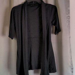 Express sexy basic short sleeve cardigan